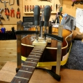 clamping-the-glued-in-neck-www-guitarlodge-co_-uk_