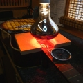 heat-lamp-in-use-during-neck-reset-www-guitarlodge-co_-uk_