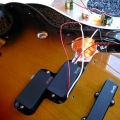 Active pickup install 9 Guitarlodge