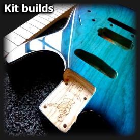 custom build guitar service. Black Bedroom Furniture Sets. Home Design Ideas