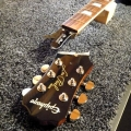 Headstock break 1 Guitarlodge