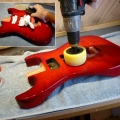 rubbing-down-buffing-after-finishing-www-guitarlodge-co_-uk_