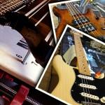 Guitar & bass set-ups: Schecter Synyster Gates on Stewmac neck jig