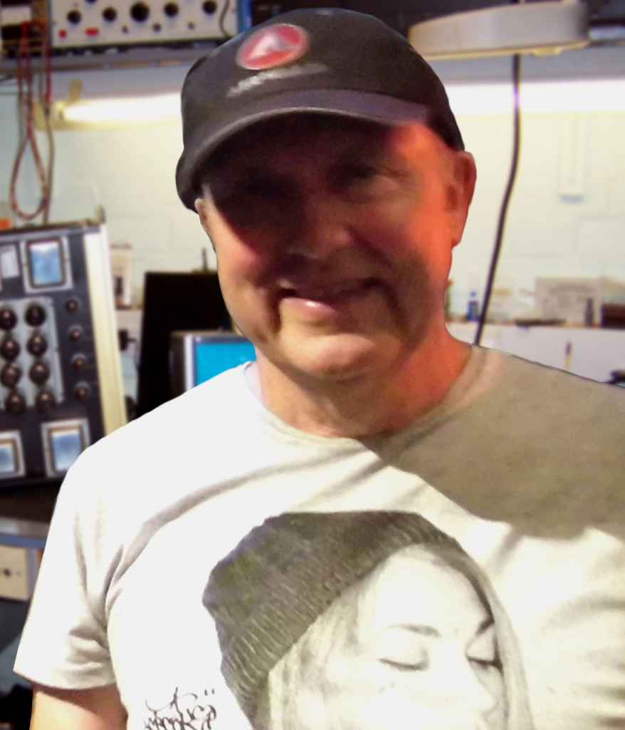 About us: Dave Parker amplifier repairs workshop Ipswich
