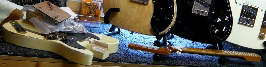 Telecaster build project & telecasters setup & ready to dispatch