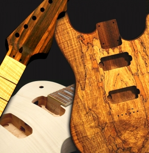 guitar bodies, necks & kits