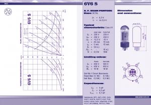 JJ 6V6S valve