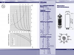 JJ EL84 valve