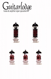 Marshall 1974X (Handwired series) valve kit