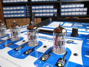 valve testing & matching: testing JJ ecc82 valves for gain, noise & suitability for phase inverters