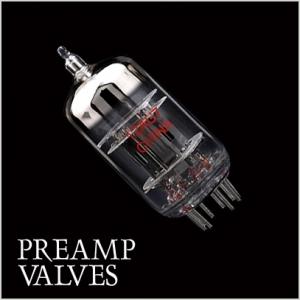 Preamp amplifier valves