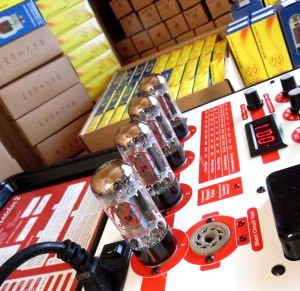 Tesing & balancing amplifier valves JJ Tesla 6L6