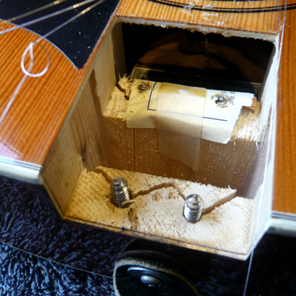 12 string neck break repair: