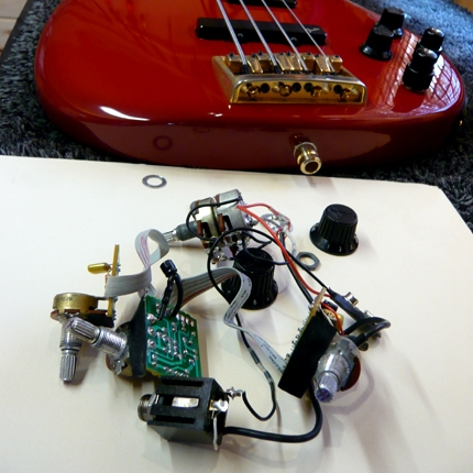 Active preamp install: