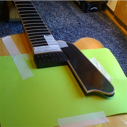 Archtop pickup install: