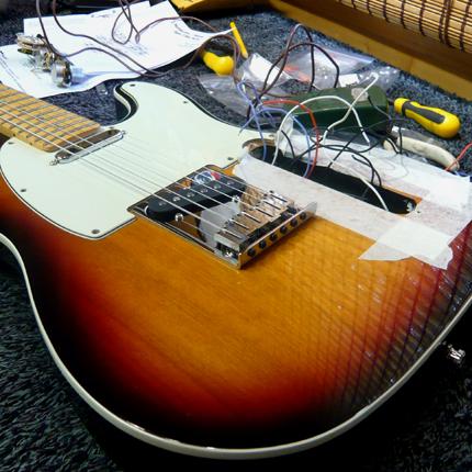 Fender Telecaster pickup install: