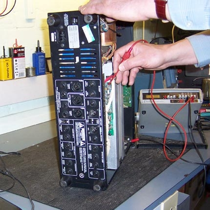 Ampeg bass amp repair/service: