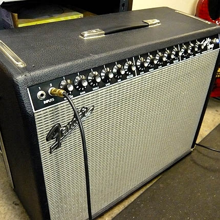 Fender twin service: