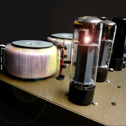 Hand built point to point hifi amplifier: