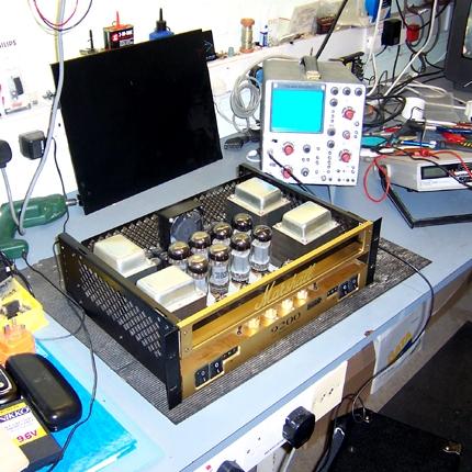 Marshall 9200 power amp on test: