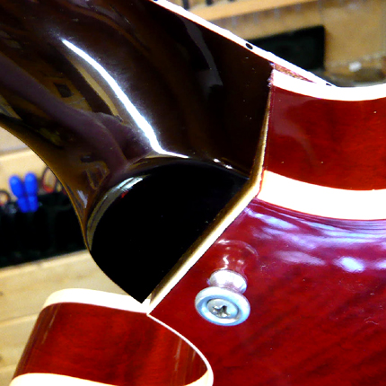 Gibson 335 neck break repair: