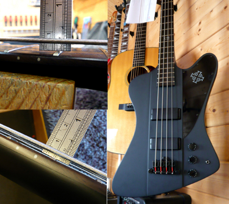 Ibanez bass setup: