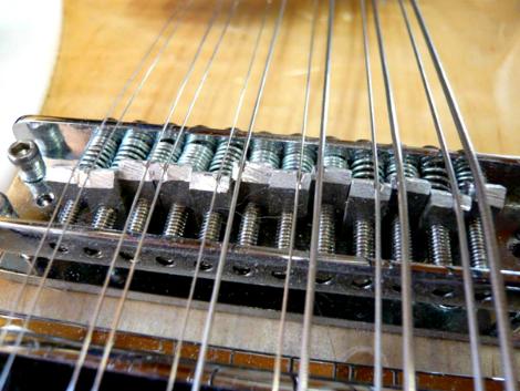 Rickenbacker 12 string setup: