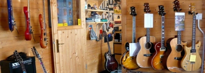 guitar & amplifier repair at Guitarlodge