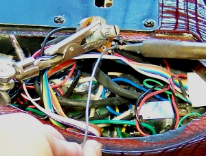 Pickups, electronic repairs & modifications: electronic repairs on a Brian Moore custom guitar