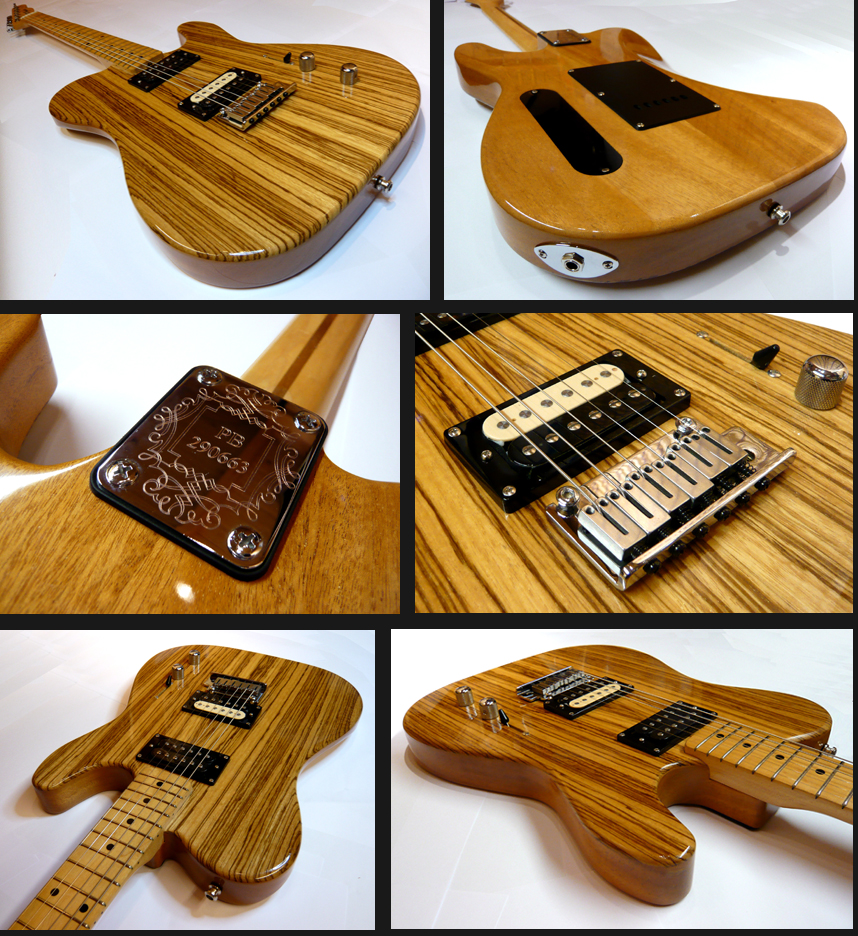 Telecaster custom build project