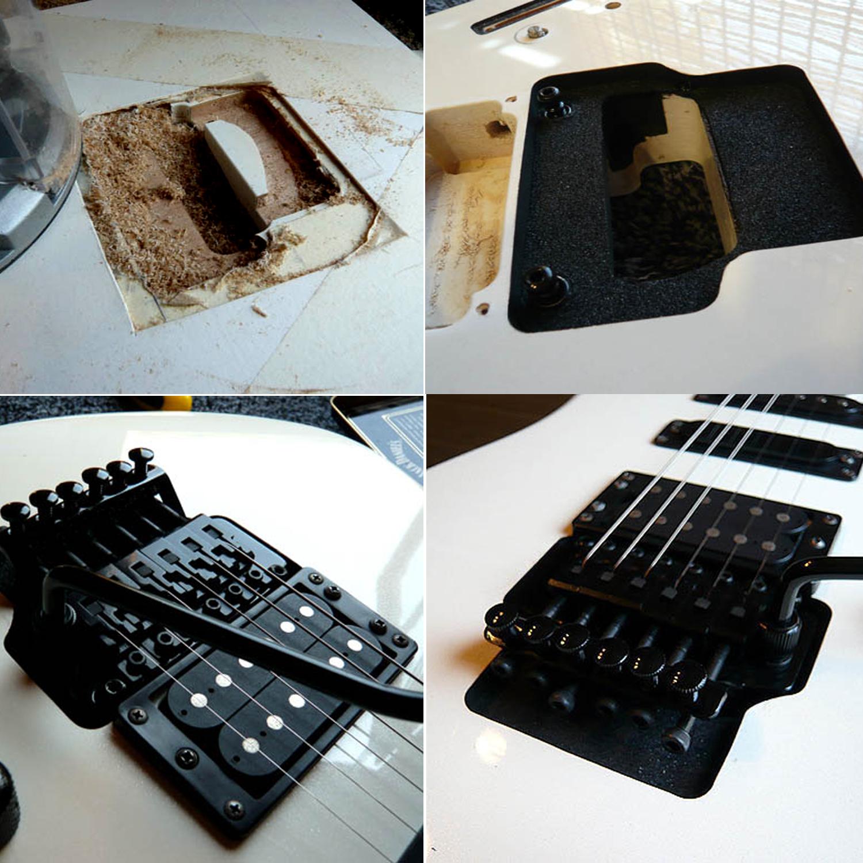 tremolo bridge nut installations guitarlodge ipswich uk. Black Bedroom Furniture Sets. Home Design Ideas
