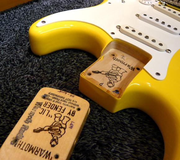 Warmoth Fender strat Guitarlodge - Guitarlodge