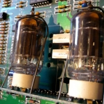 ECC83 preamp valves being replaced on Marshall JMP1 midi preamp