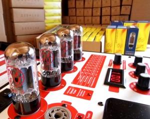 valve testing & matching: checking JJ 6V6 valves for plate current balance