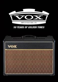 Vox AC15 CC valve kit