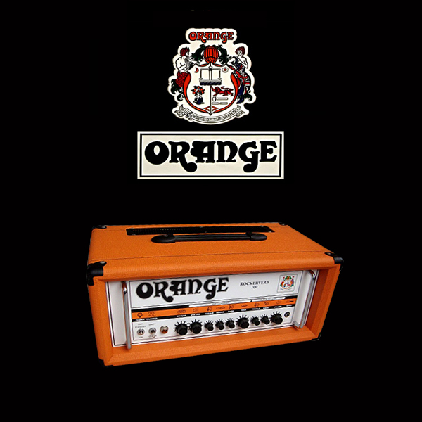 Orange Rockerverb 100 valve set