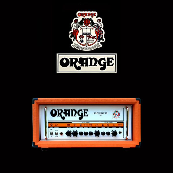 Orange Rockerverb 50 valve kit