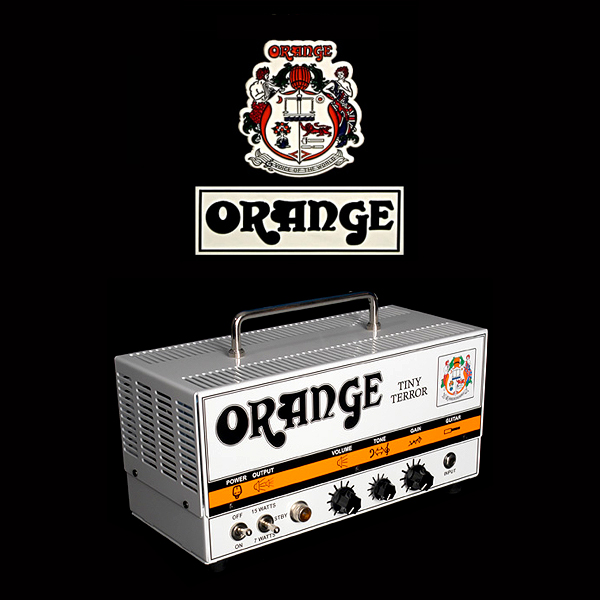 Orange Tiny Terror valve set