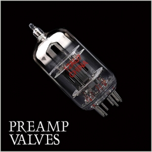 Preamp amplifier valves