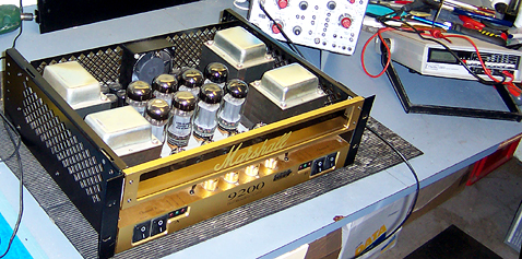 Amplifier repairs on Marshall 9200 power amplifier