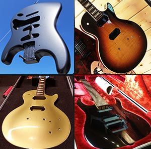 Guitar refinishing guitarlodge uk