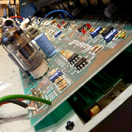 Marshall amp head fault finding: