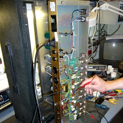 Marshall JCM800 service & re-valve: