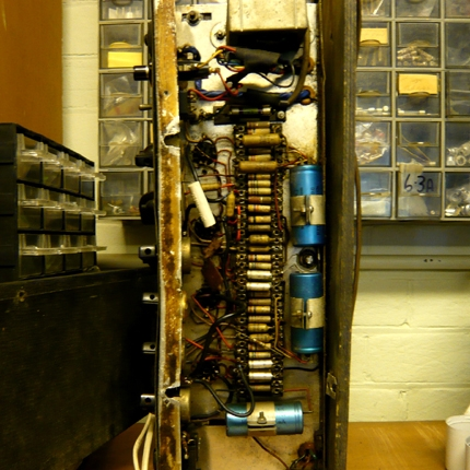 Vox AC50 restoration: