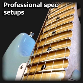 pro guitar setups