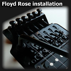 Floyd Rose installation