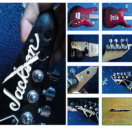 Jackson headstock break repair: