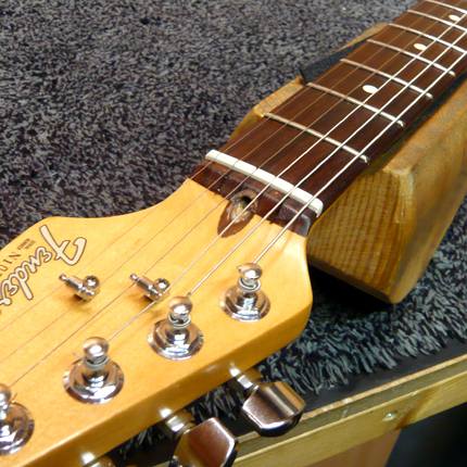 Broken truss rod repair: