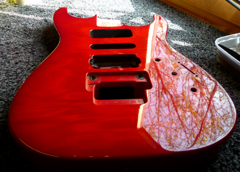 Jackson finish repair: